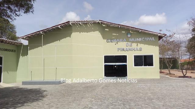 Câmara de Vereadores de  Piranhas, publica processo de licitação para compra de combustível parcelado