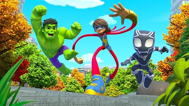 Disney+ estrenará la serie Spidey y sus Sorprendentes Amigos