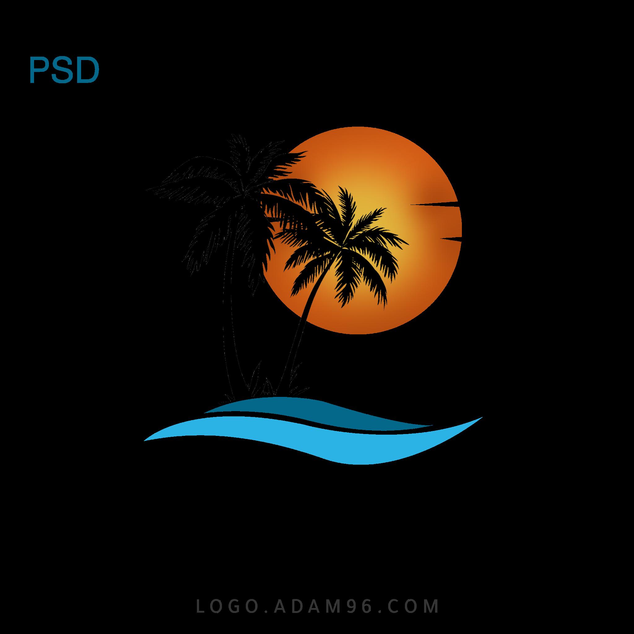 تحميل شعار شركة سياحة لوجو شركة بصيغة PSD - PNG