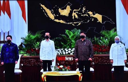 Presiden Jokowi, Luncurkan Program Bantuan Subsidi Upah Buruh Untuk 15,7 Juta Orang