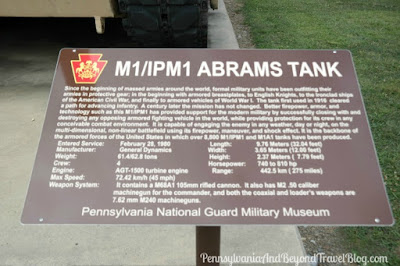 M1/IPM1 Abrams Tank at Fort Indiantown Gap in Pennsylvania