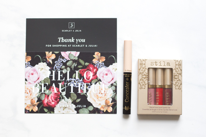 Scarlet & Julia, A New Canadian Online Beauty Boutique
