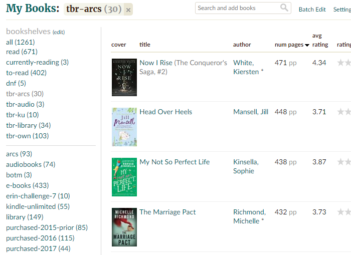 Getting started with NetGalley - keeping track of your ARCs on goodreads