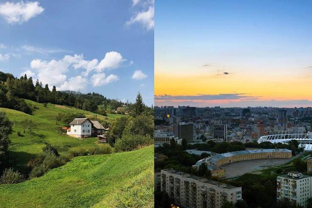 Cidades pequenas vs grandes