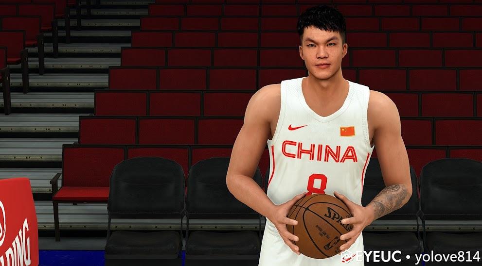 Zhu Fangyu (Chinese Player) Cyberface and BOdy Model By YOLOVE814 [FOR 2K21]