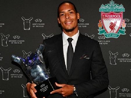 فان دايك يتفوق على ميسى ويتوج بلقب أفضل لاعب في أوروبا  The Best player in Europe