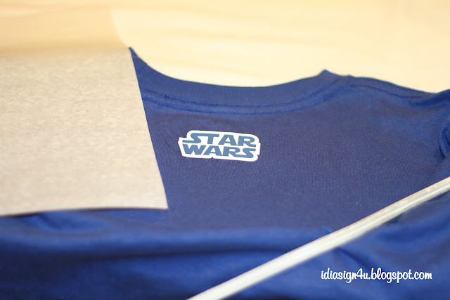 DIY Star Wars Personalized T-shirt for Start Wars Birthday Boy by ilovedoingallthingscrafty.com