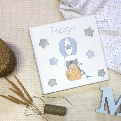 álbum fotos infantil personalizado bebé