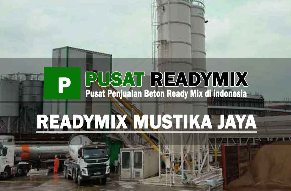 harga beton cor ready mix Mustika Jaya