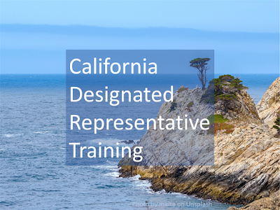 California Designated Representative License Training - online training classes for 3PL, wholesalers, reverse distributors. Board approved online training courses offered by SkillsPlus International Inc. (a training vendor): wholesaler course; 3PL course; reverse distributor course.