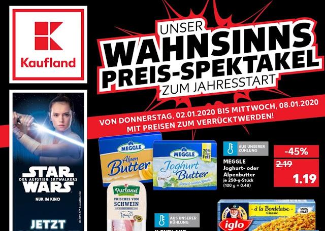 Kaufland Prospekt ab 02-08.01 2020