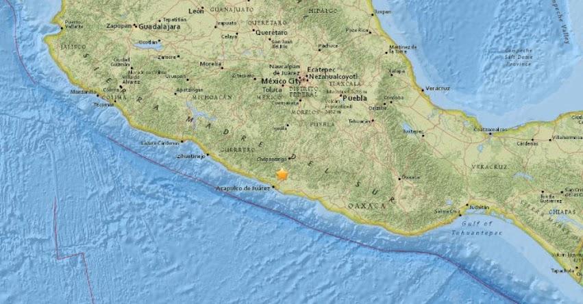 TERREMOTO EN MÉXICO: Sismo de magnitud 5.0 (Hoy Lunes 25 Diciembre 2017) Temblor Epicentro Acapulco - USGS - SSN - www.ssn.unam.mx