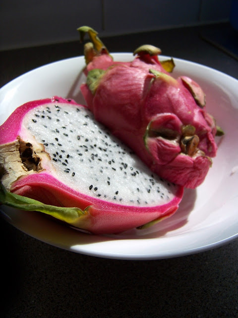Dragonfruit inside