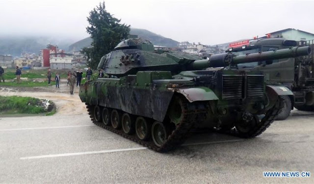 Νέα μεταφορά τουρκικών αρμάτων μάχης προς την Συρία…