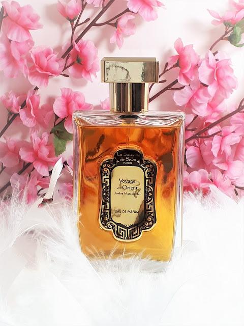 avis Voyage en Orient - Ambre, Musc, Santal de La Sultane de Saba, blog parfum, blog bougie, blog beauté