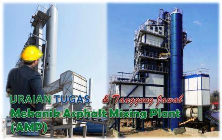 Tugas Mekanik Asphalt Mixing Plant (AMP)