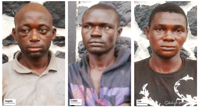 policemen ambush attack kidnappers