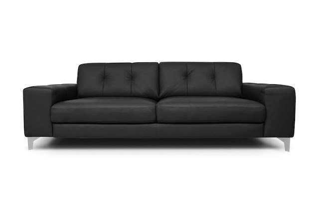 sofa color negro firma relikua chicanddeco