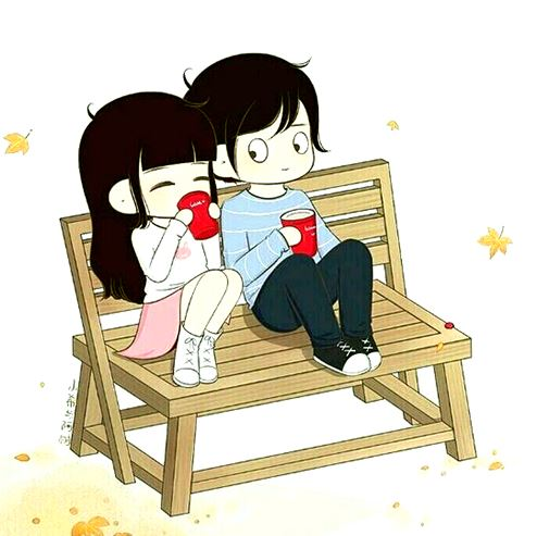 cute lover dp