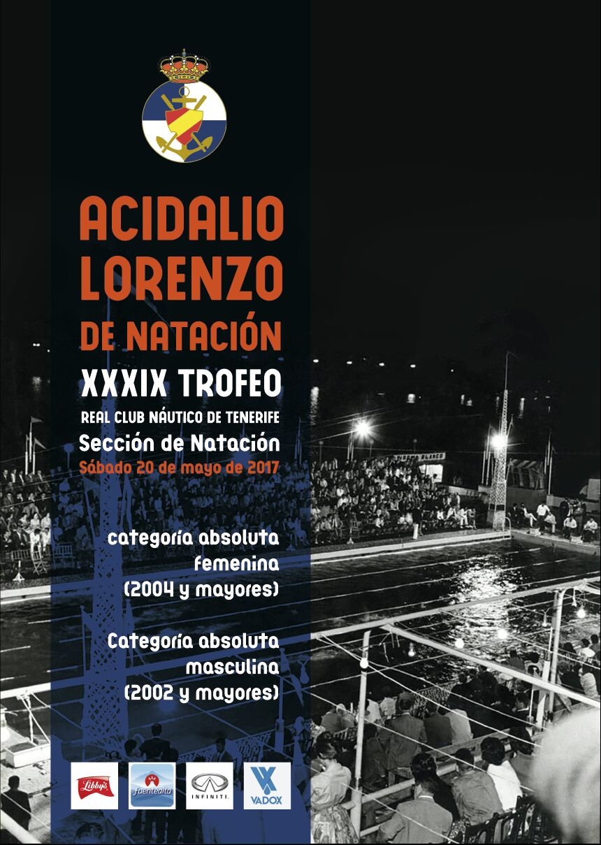 Ntc natacion canaria trofeo acidalio lorenzo 2017 for Normativa piscinas canarias