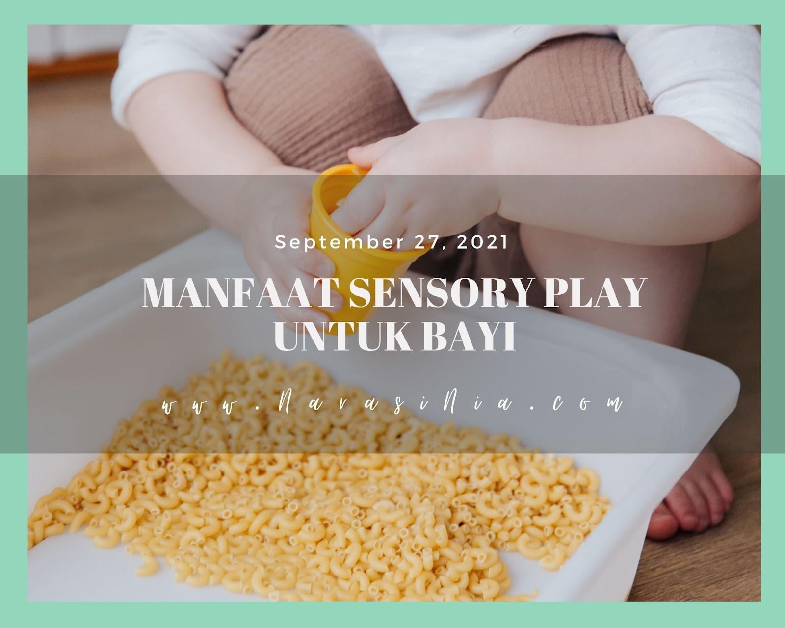 manfaat sensory play untuk bayi