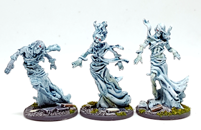 How to paint Zombicide Spectral Walkers