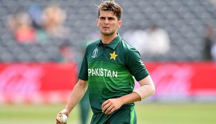 Shaheen Afridi sette yn 2020 de debút fan county cricket