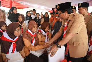 Wabup Muqit Ingin Kegiatan Harmoni Indonesia Mampu Gerakan Kepribadian Generasi Muda