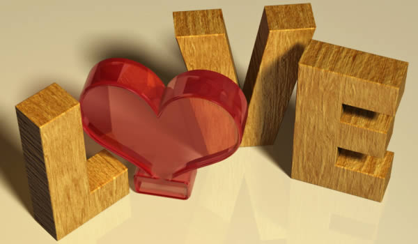 How to Create a Valentine's Day-Inspired 3D Text Effect