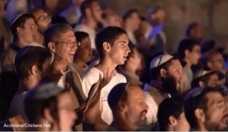 Tribu de Leví canta salmos