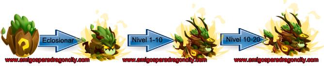 imagen del crecimiento del noble dragon entidad