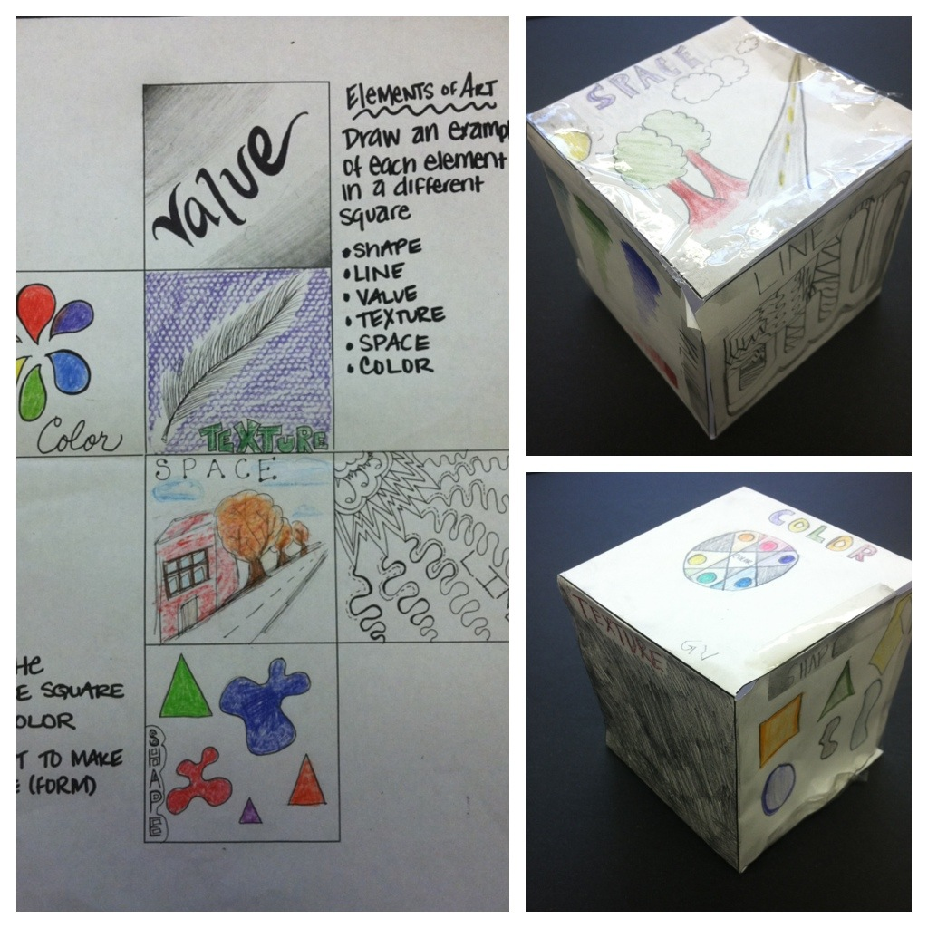 Tales From G14a Elements Of Art 6th Grade Edition