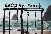 Wisata Pantai Pasir Putih Malikan Di Jember