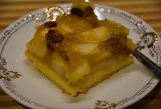 kruchy jabłecznik z puree z dyni