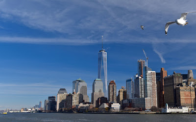 Nouvel horizon depuis 2015: le One World Trade Center est terminé et le plus haut bâtiment de la ville de New York