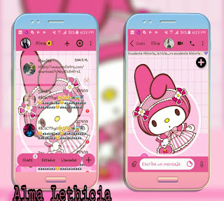 My Melody Theme For YOWhatsApp & Fouad WhatsApp By Alma Lethicia