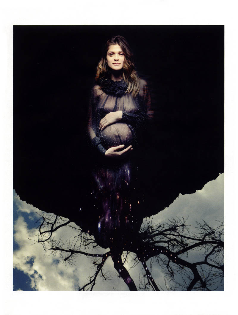 PREGNANT ELISA SEDNAOUI for VOGUE ITALIA || June 2013