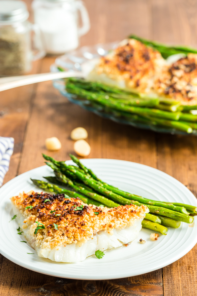 Oven Baked Coconut Macadamia Fish Fillets Bobbi S Kozy Kitchen