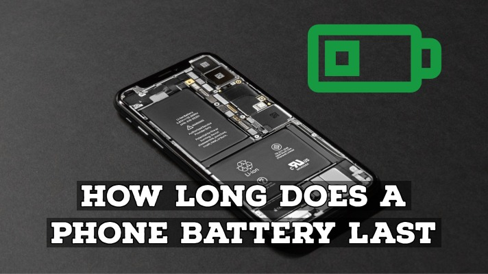 How long does a phone battery last