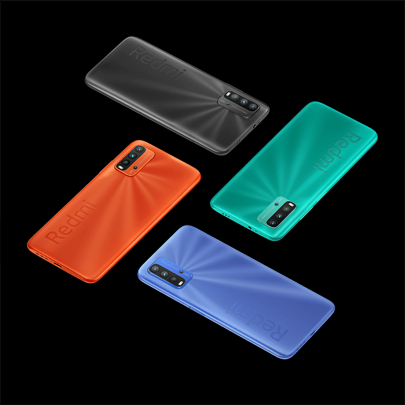 Different colors of Redmi 9T