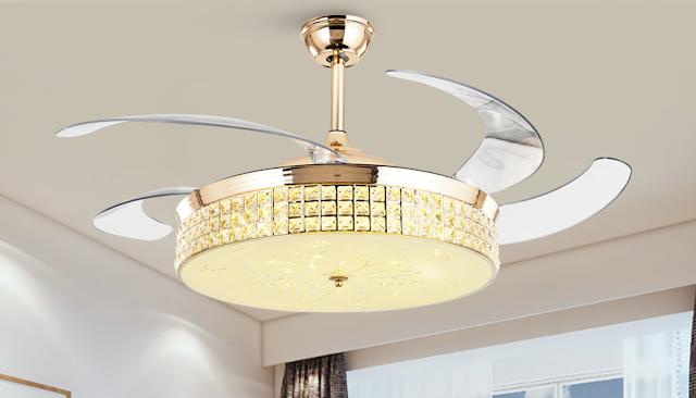 【室內設計】華麗吊扇燈 讓房間光亮也令空氣流通