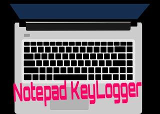 Notepad keylogger