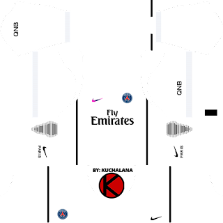 Paris Saint-Germain (PSG) 2016/17 - Dream League Soccer Kits and FTS15
