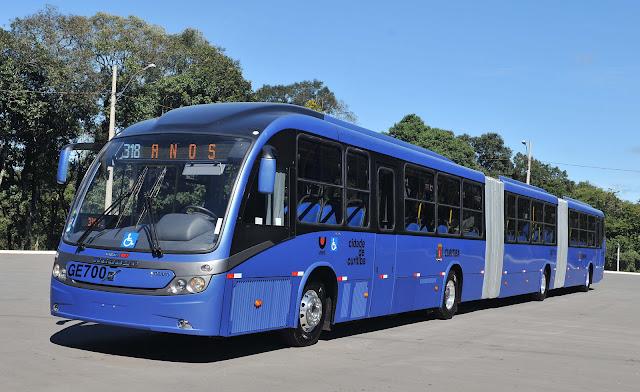 Mega BRT - Maior ônibus do mundo