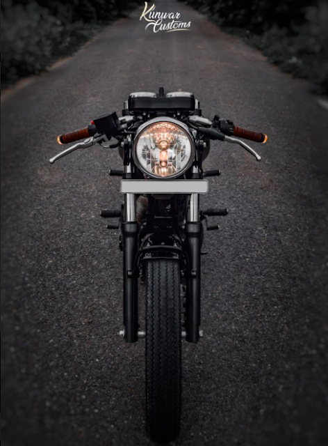 benelli imperiale cafe racer