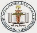 Vacancies in PGIMS Rohtak (Pt. BD Sharma University of Health Sciences Rohtak) uhsr.ac.in Advertisement Notification Medical