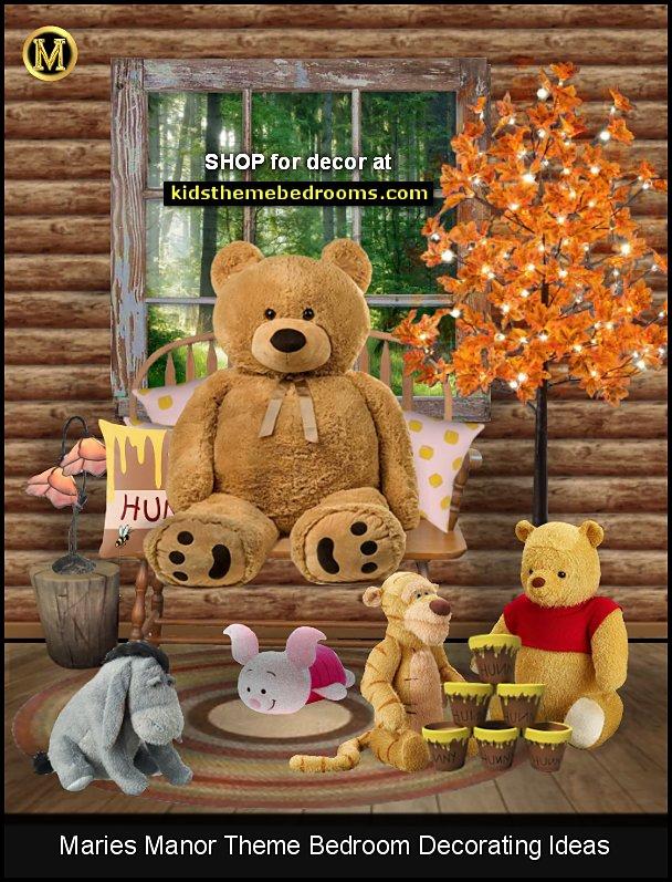 Winnie the Pooh Room Themes winnie pooh kids room winnie playroom decorating