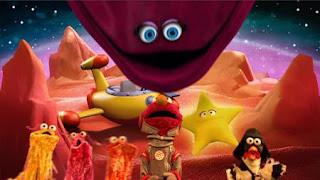 Elmo the Musical Pizza the Musical, the Martians, Darth Chicken, velvet, Sesame Street Episode 4407 Still Life With Cookie season 44