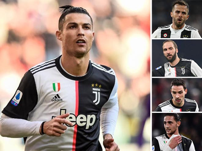 Juventus mạnh tay thanh lọc lực lượng: Tất cả vì Ronaldo và cúp C1