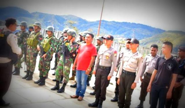 Arung Ranteupa Hadiri Pelantikan 71 Kepala Desa di Lanny Jaya
